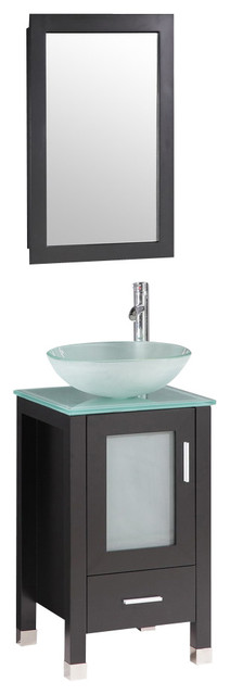 24 39 39 miami collection bathroom vanity set bct9219 contemporary bathroom vanities and sink. Black Bedroom Furniture Sets. Home Design Ideas