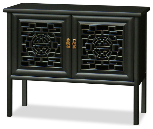 Elmwood Longevity Design Ming Cabinet - Asian - Buffets And Sideboards - by China Furniture and Arts