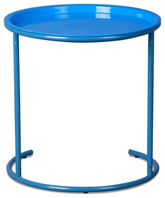 beistelltisch finn blau modern side tables end. Black Bedroom Furniture Sets. Home Design Ideas