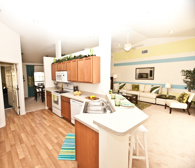 Highland Homes Comely Kitchens Living Room Tampa