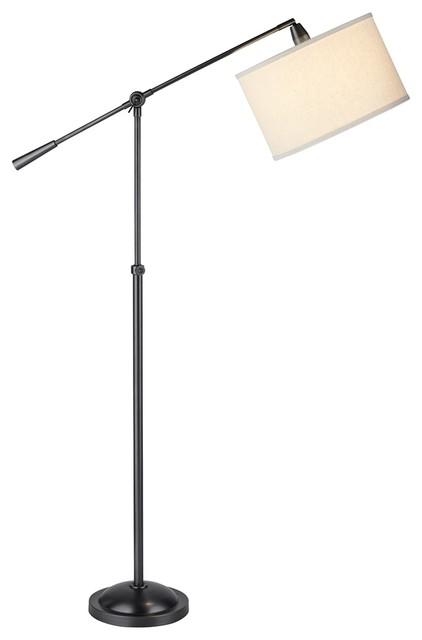 Pacific coast spotlight floor lamp bronze contemporary for Contemporary floor lamps gold coast