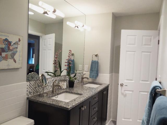 Modern Americana Family Retreat Traditional Bathroom