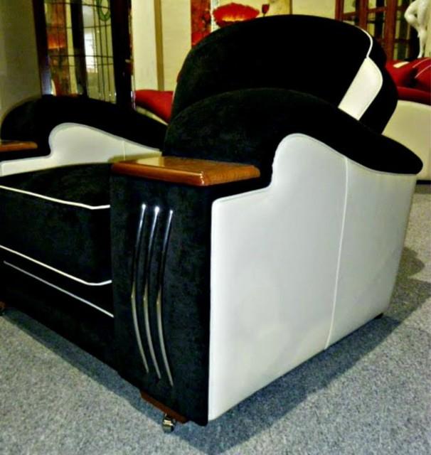 Deco lounges contemporary melbourne by deco furniture - Deco lounge chique modern ...