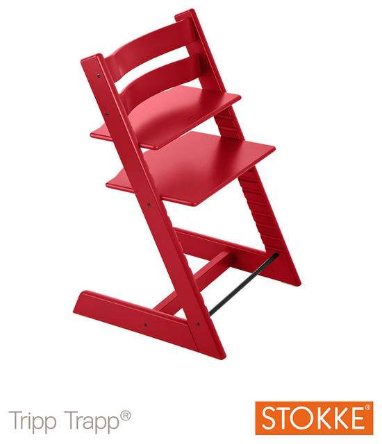 stokke tripp trapp chair red modern high chairs and booster seats by mothercare. Black Bedroom Furniture Sets. Home Design Ideas