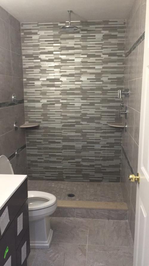 bathroom    tub    walk  shower