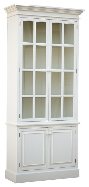 Beach House Cabinet - Traditional - China Cabinets And Hutches - by Sweet Elle Furniture