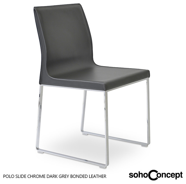 soho concept polo sled base dining chair modern dining chairs