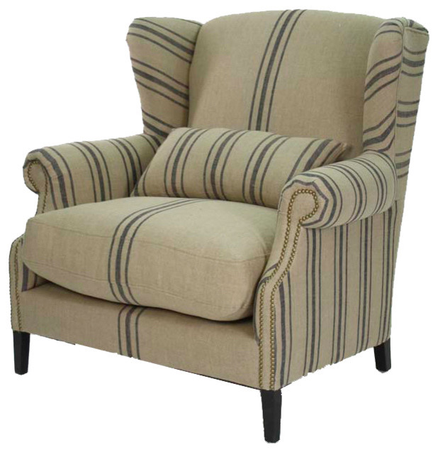 Modern leather wingback chair galleryhip com the
