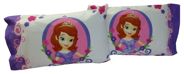 Sofia The First Throw And Pillow Set : Sofia First Pillowcases Princess Training Pillow Covers - Contemporary - Pillowcases And Shams ...