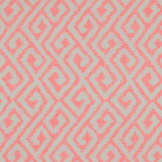 Coral bohemian wallpaper r3299 sample transitional for Table coral sample