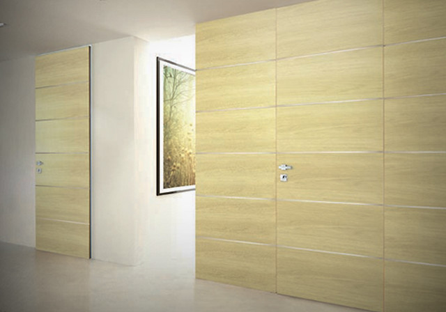 Hidden doors - Modern - Interior Doors - other metro - by DAYORIS Doors / Panels
