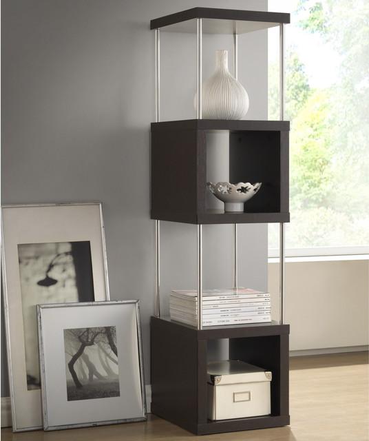 baxton studio 39 evelyn 39 dark brown espresso modern storage. Black Bedroom Furniture Sets. Home Design Ideas