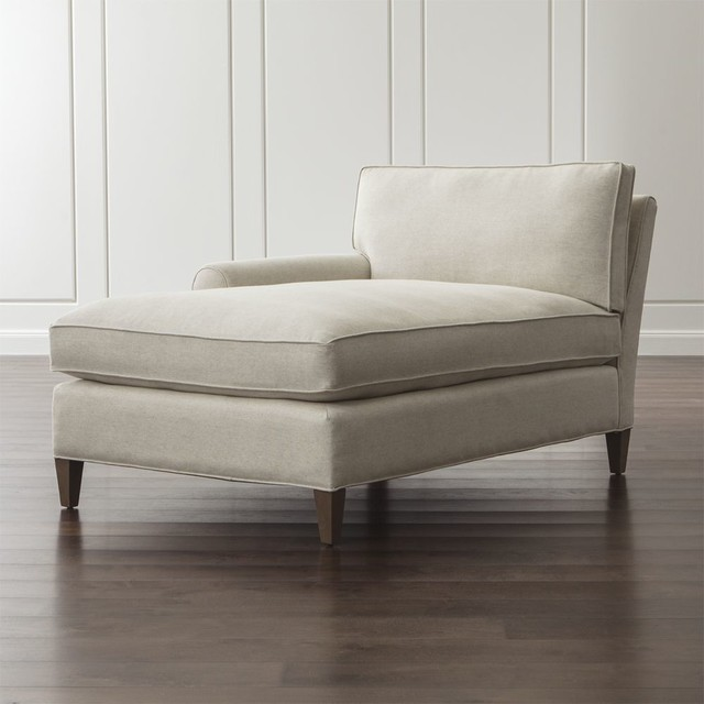 chaise lounge contemporary sofas and sectionals by crate barrel