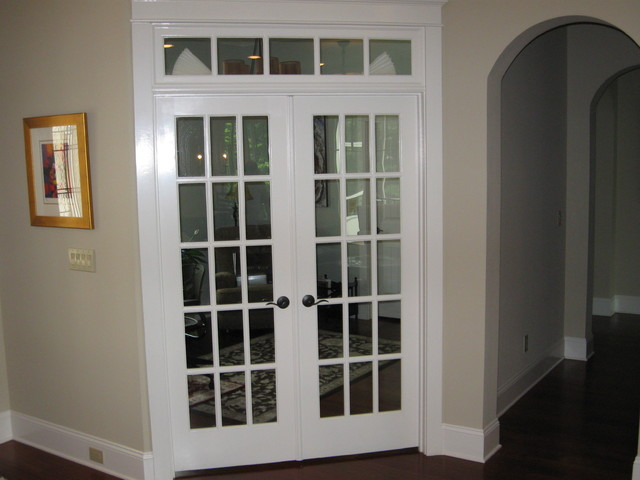 Interior double french doors for White double french doors