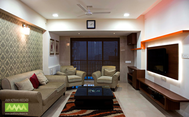 interior designers navi mumbai residence eclectic living room other metro by anish