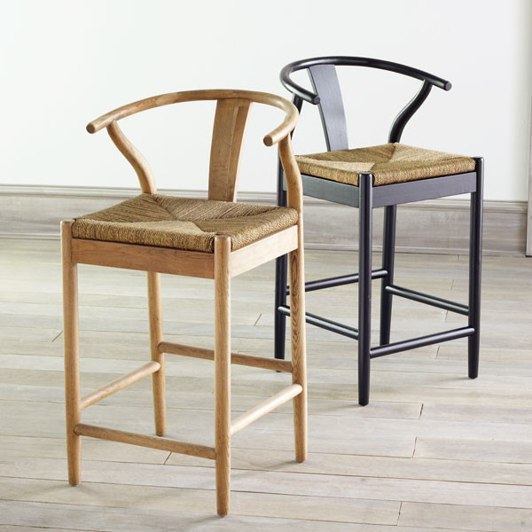 Danish Counter Seat Contemporary Bar Stools And By Wisteria