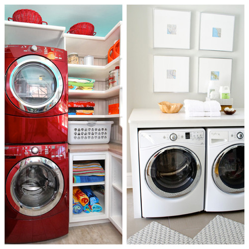 Poll Stackable Or Side By Side Washer And Dryer