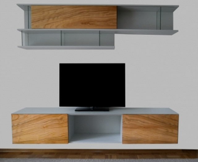 sideboard forest kirschbaum modern multimedia m bel tv w nde other metro von luanna design. Black Bedroom Furniture Sets. Home Design Ideas