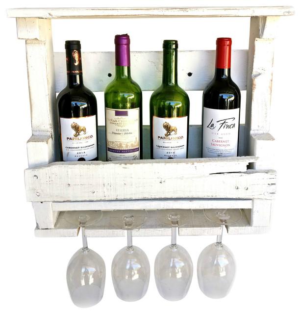 Shabby Chic Wine Rack - Farmhouse - Wine Racks - by Roman ...