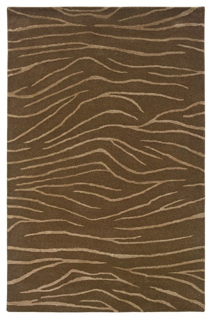 Contemporary silhouette hallway runner 2 39 6 x8 39 runner for Contemporary runner rugs for hallway