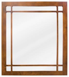 Lyn design bathroom mirror craftsman bathroom mirrors for Craftsman mirrors bathroom