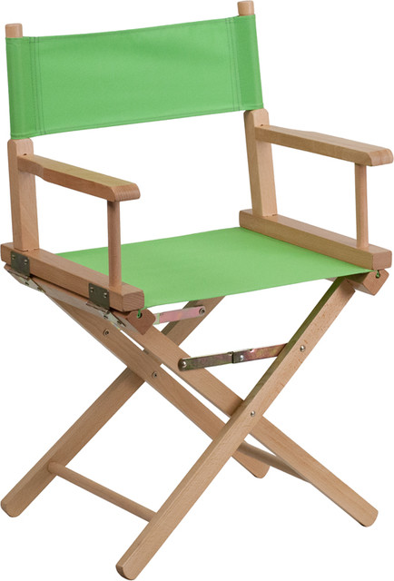 Standard Height Directors Chair Green