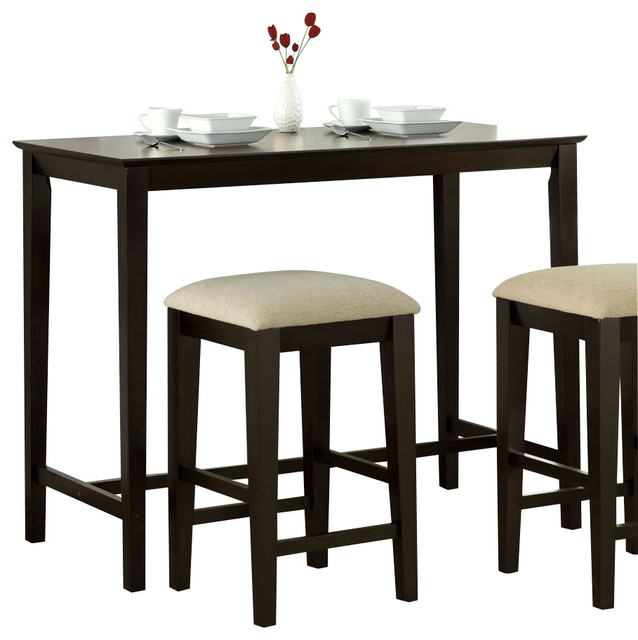 Monarch Specialties 48 X 24 Counter Height Kitchen Table Contemporary Din