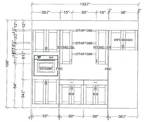 Height of wall oven?