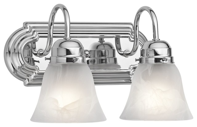 Chrome Bath Lighting Fixtures: Kichler No Family Association Bathroom Lighting Fixture In