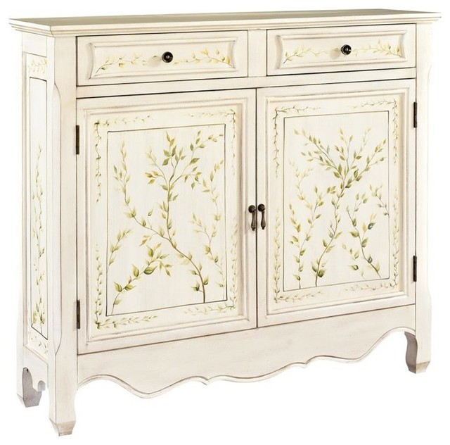 Hand Painted Kitchen Cabinets: Hand Painted Console Cabinet