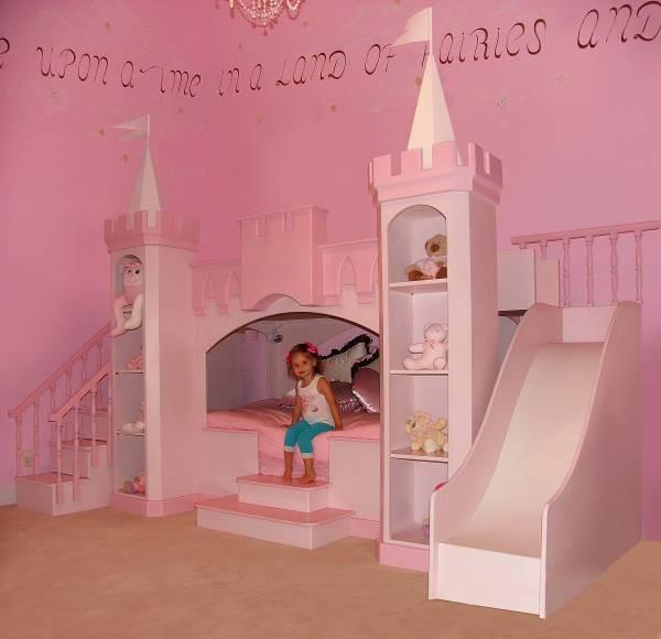 princess bedroom set with slide 1