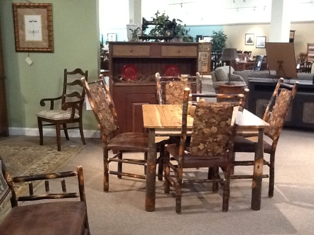 Poughkeepsie Showroom Eclectic Dining Tables New York By Millspaugh Furniture