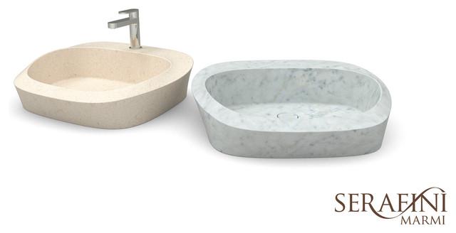waschtische aus naturstein modern waschtische other metro von natursteinhandel marmi e. Black Bedroom Furniture Sets. Home Design Ideas