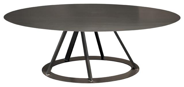 Big Irony Oval Table by Zeus Modern Dining Tables by  : modern dining tables from www.houzz.co.uk size 640 x 304 jpeg 25kB