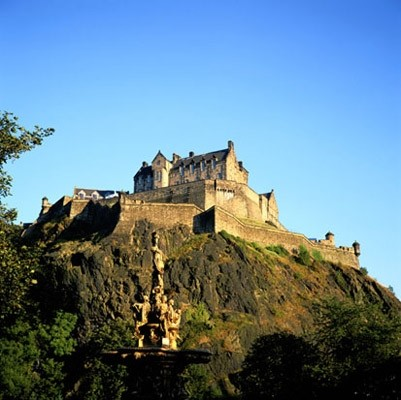 Edinburgh castle photo wall mural contemporary for Edinburgh wall mural