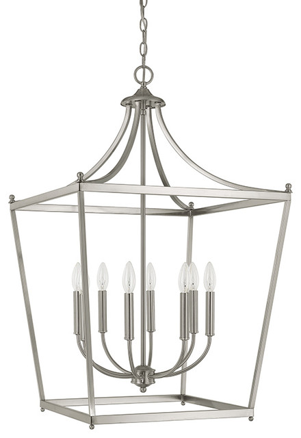 Transitional Foyer Lighting : Capital lighting stanton light foyer fixture