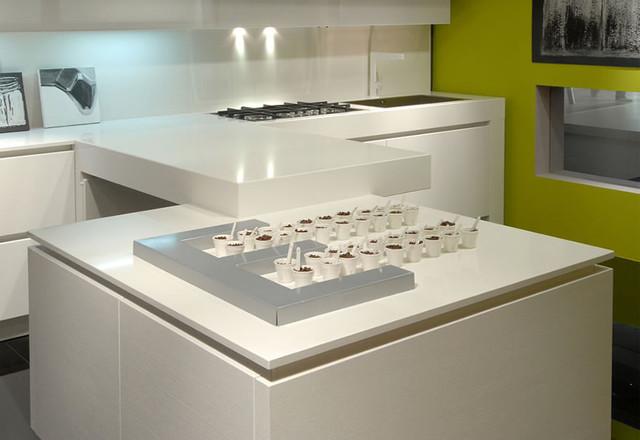 Just kitchen contemporaneo piani da cucina altro - Piani cucina materiali ...