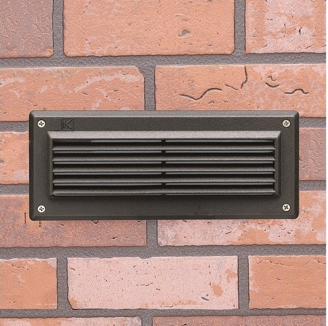 15073 Low Voltage Brick Outdoor Step Light with Louvers - Modern - Outdoor Lighting - by LBC ...