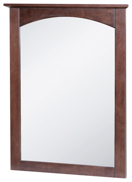 Columbia 21 Cherry Mirror Transitional Bathroom Mirrors By Foremost