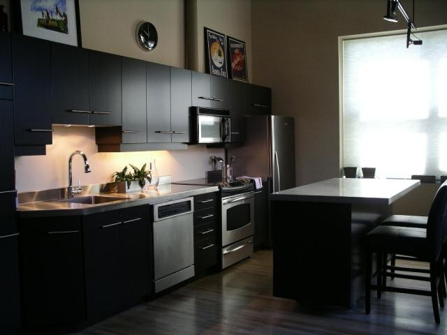 Stainless Steel Countertops With Integral Sink By Ridalco
