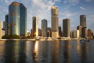 skyscrapers amp brisbane river wall mural contemporary wall murals brisbane pixersize com