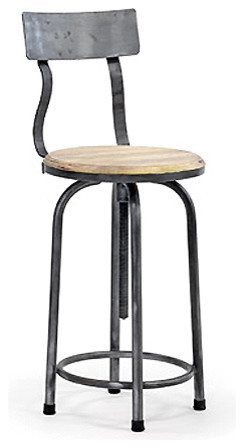 Industrial Vintage Stool Eclectic Bar Stools And
