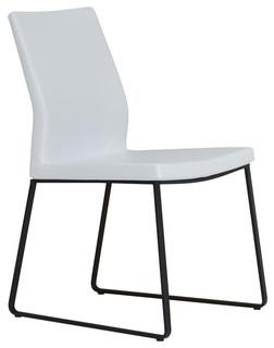 Pasha slide chair modern dining chairs vancouver for Modern dining chairs vancouver