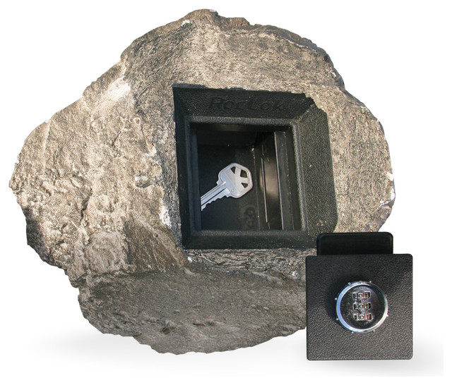 Bottom of the St. Helens Key Safe - Outdoor Products - Portland - by RocLok Hide a Key, Inc.