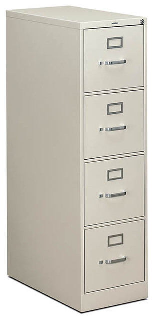 HON 310 Series Vertical File - 4 Drawer, Letter - Contemporary - Filing Cabinets - by Rulers