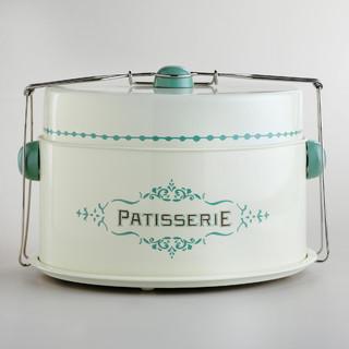 Cream Patisserie Cake Carrier