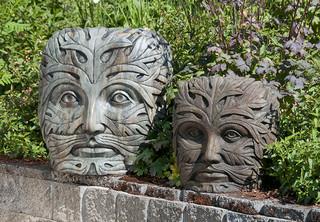 Greenman Face - Contemporary - toronto - by Creative Landscape Depot