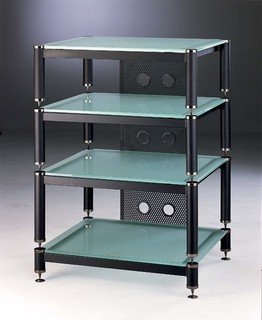 Amp Stand/Audio Rack - Modern - Home Electronics