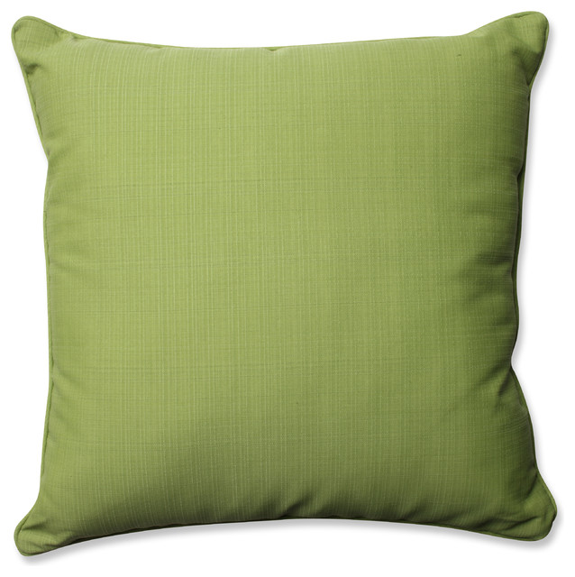 Green Floor Pillows : Outdoor/Indoor Forsyth Green 25