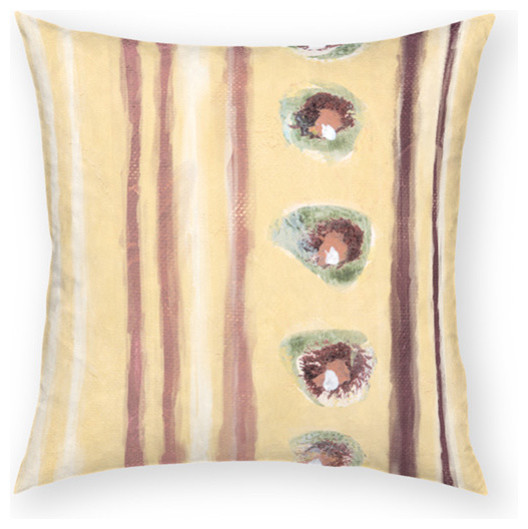 Beach Style Decorative Pillows : Oysters 18